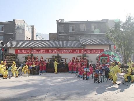 宁洱欢度纪念活动 共唱民族团结一家亲