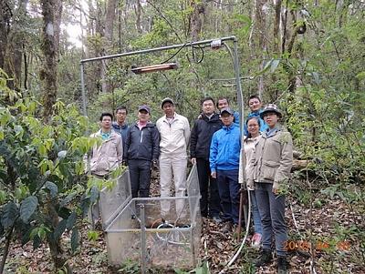 日本专家到哀牢山生态站开展合作研究