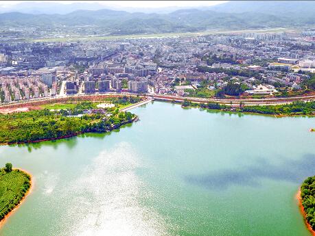 普洱市逐渐成为宜居山水园林城市