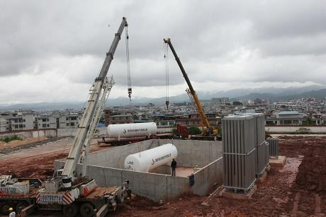 普洱主城区南部天然气供气站年内有望投入使用