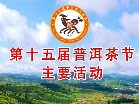 第十五届普洱茶节的主要活动