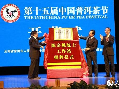 人民网|普洱品牌天下共享 第15届中国普洱茶节在云南普洱开幕