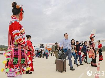 人民网|云南澜沧景迈机场正式通航 昆明到澜沧只需50分钟