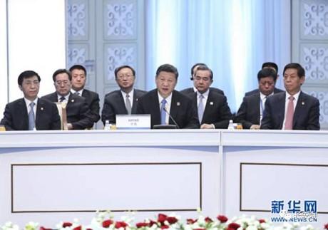 """当世界来到不确定的岔路口,""""中国方案""""将如何引领扩容后的上合组织改变世界格局?"""