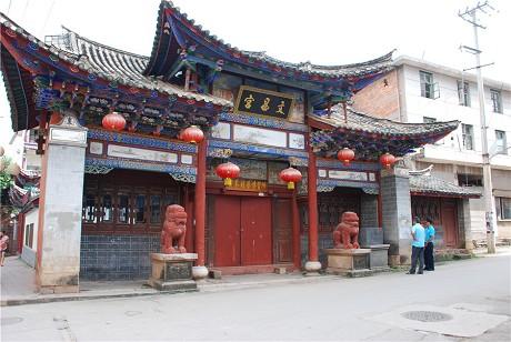 宁洱启动市级文物保护单位文昌宫门楼修缮工程