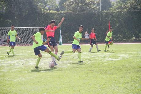 普洱市第二届青少年校园足球选拔赛暨校园足球啦啦操比赛开幕