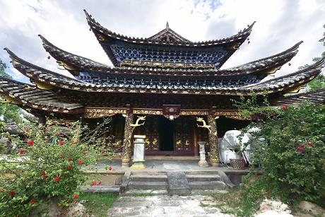 普洱文物保护单位:迁糯佛寺