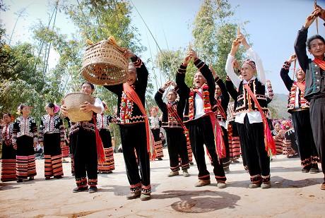 拉祜族文化记忆