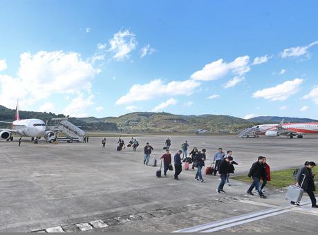 普洱思茅机场年旅客吞吐量首次突破50万人次