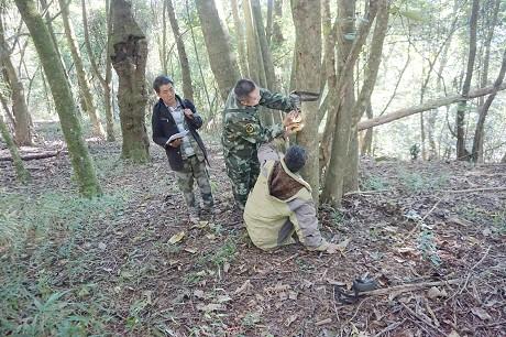 """景东管护局开展""""两山""""野生动物监测"""