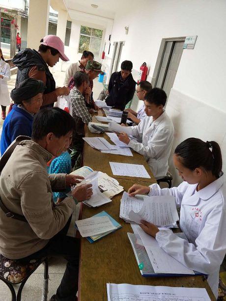 镇沅开展农村贫困人口大病集中救治筛查回访工作