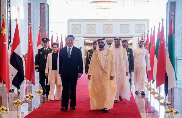 央视网|习近平抵达阿布扎比开始对阿拉伯联合酋长国进行国事访问