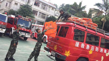 普洱消防全力做好抗台风防汛抢险救援准备工作