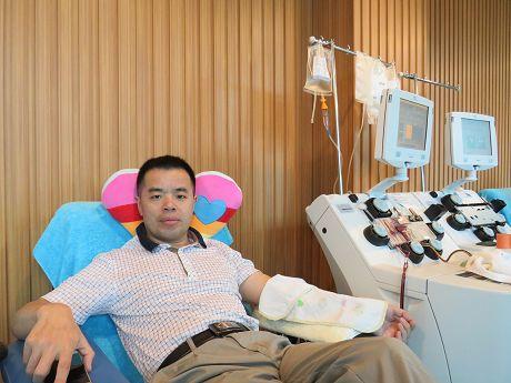 无偿献血20年爱心传递暖人间