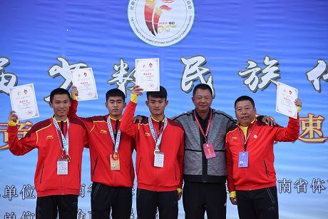 省民运会第五日普洱代表团勇夺9金