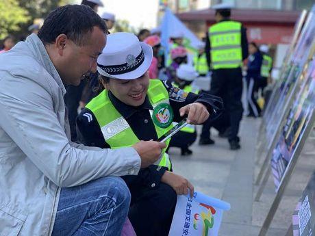 """普洱市全面开展""""122全国交通安全日""""主题宣传"""