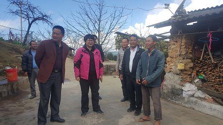 普洱市领导在镇沅调研时强调加强统筹全力以赴圆满完成脱贫攻坚任务