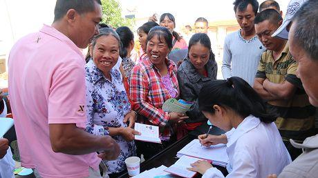 新抚镇健康扶贫为贫困群众保驾护航