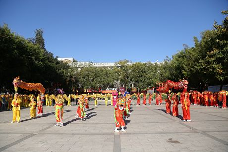 普洱市春节文化活动精彩纷呈