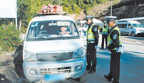 思茅交警大队五措施创造安全畅通的道路交通环境
