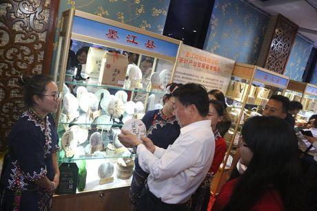 墨江农特产品亮相中央党校(国家行政学院)特色农产品展销会