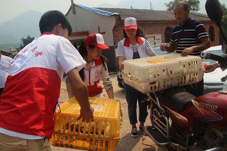乐虎国际娱乐官网市志愿服务联合会以志愿服务助脱贫
