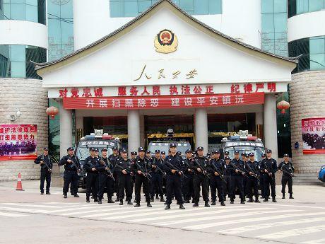 镇沅公安全面加大社会管理和打击违法犯罪力度