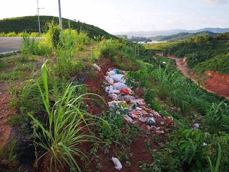 爱护环境卫生请勿乱扔垃圾