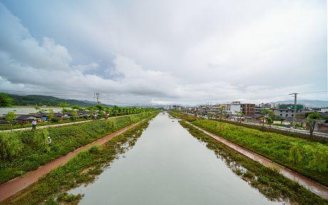 普洱市开展普洱市中心城区河道环境综合整治工程