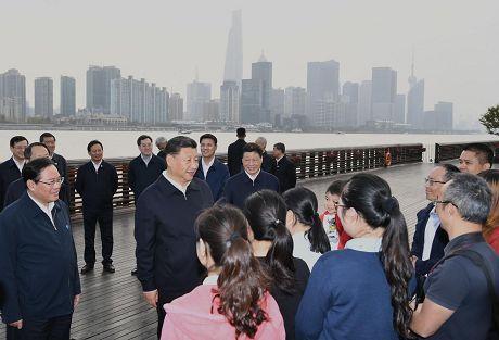 习近平在上海考察时强调深入学习贯彻党的十九届四中全会精神提高社会主义现代化国际大都市治理能力和水平
