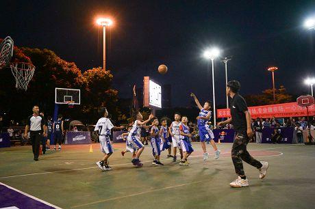 中国篮球公开赛城市预选赛普洱赛区开赛