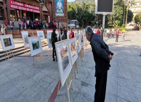 """乐虎国际娱乐官网市美术馆赴西盟开展""""我们的中国梦""""春节文化系列活动"""