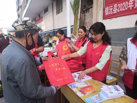 县直机关工委党支部志愿服务活动进社区
