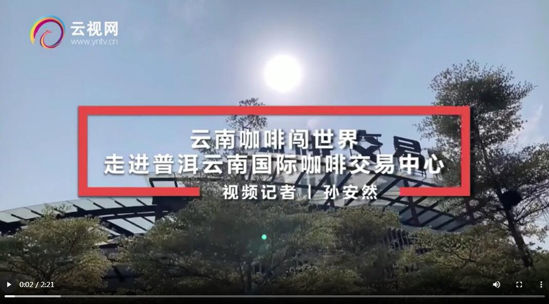 【沿着高速看中国】云南咖啡闯世界——走进普洱云南国际咖啡交易中心